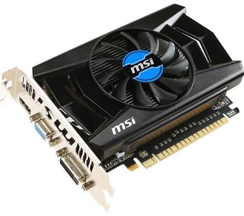 card graphics msi geforce gtx 750ti graphics card deals pc world