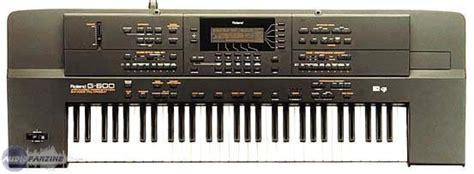 Keyboard Roland G 600 the 61 note roland g 600 arranger musicstation digital