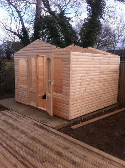 summerhouse  shed combination garden building