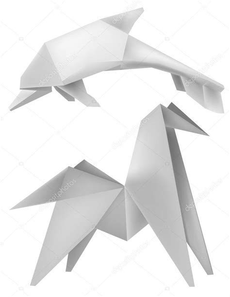 Shafer Origami Diagrams - origami origami origami dolphin by origamipieces on
