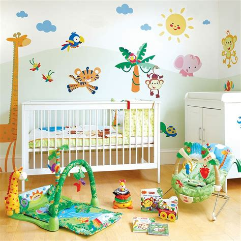 fisher price wall stickers fisher price animals of the rainforest wall stickers set fisher price the