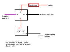 12 volt horn wiring diagram wiring diagram website