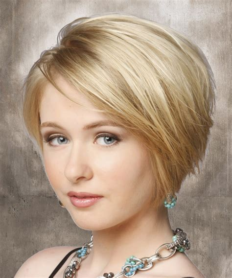 lightly layered bob hairstyles short straight casual hairstyle light blonde layered