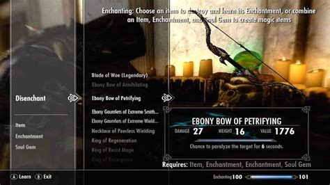 enchanting do all require a skyrim smithing enchanting lvl guide banish how to get it