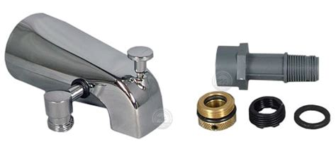 bathtub spout adapter delta formerly alsons tub and shower accessories