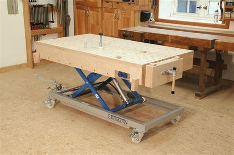 workshop bench height adjustable workbench workshop pinterest jack o