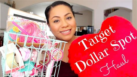 target dollar spot target dollar spot haul valentines day items youtube