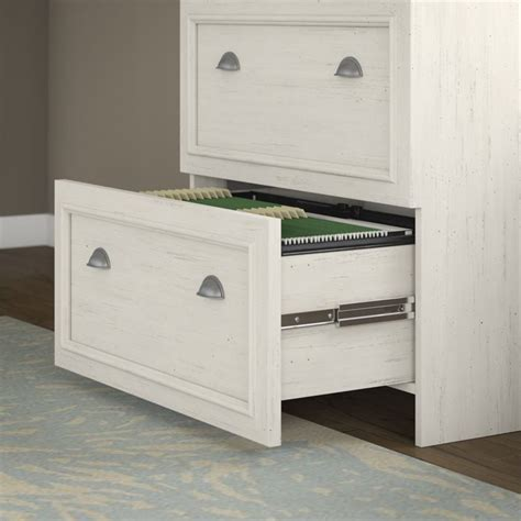 antique white file cabinet bush fairview lateral file cabinet in antique white