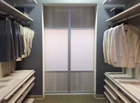 Sliding Door Mocha Latte Resin Insert Contemporary California Closets Sliding Doors