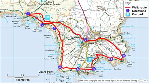 the lizard coastal walk cornwall national trust