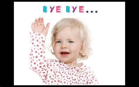 The Waved Bye my gabey diary quot bye bye baby quot