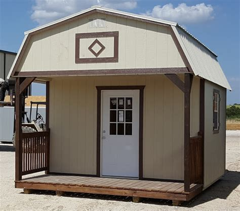 Portable Guest House by Wolfvalley Buildings Storage Shed With Brown