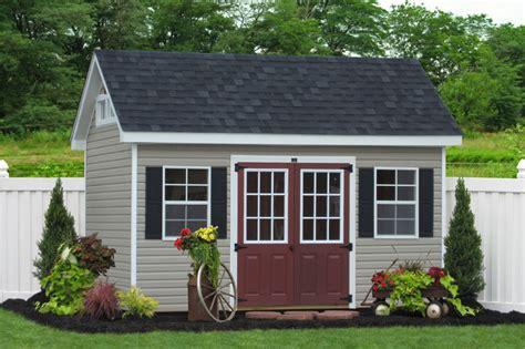 premier garden shed  vinyl traditional shed
