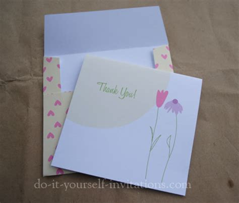 Free Printable Thank You Cards Do It Yourself Cards Templates