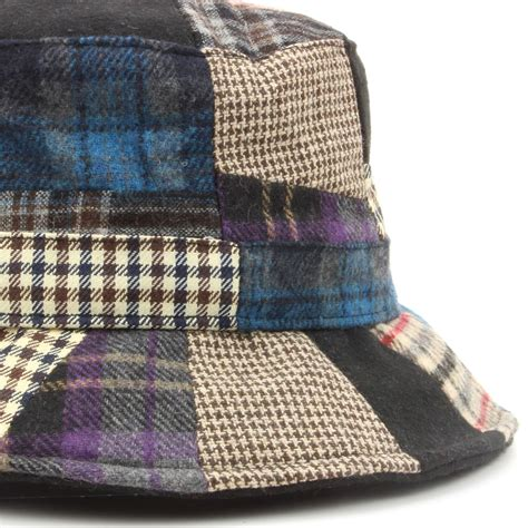 Patchwork Tweed Cap - tweed hat hawkins patchwork wool blue 4 sizes