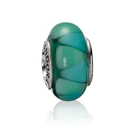 pandora charms glass pandora captivating green murano glass charm 790636