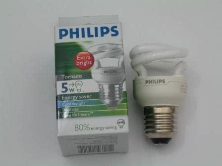 Lu Philips Tornado 15 Watt home energy saving bulb philips 5 watt tornado bulb