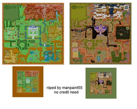 legend of zelda map sprites 3ds the legend of zelda a link between worlds hyrule