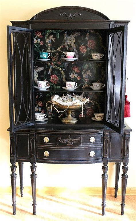 25 best ideas about black china cabinets on