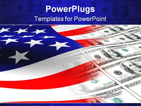 American Flag Background For Powerpoint American Powerpoint Templates