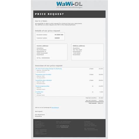 Email Design Vorlage Jtl Wawi Email Vorlagen Html Englisch Design 01 Wawi Dl 10 00