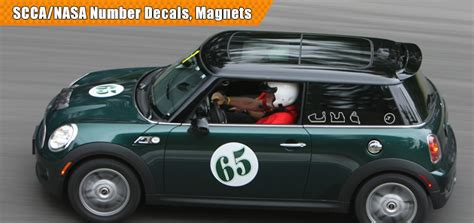 Wall Graphics Stickers race car numbers race car decals race car wraps