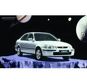 HONDA Civic Sedan Specs  1995 1996 1997 1998 1999