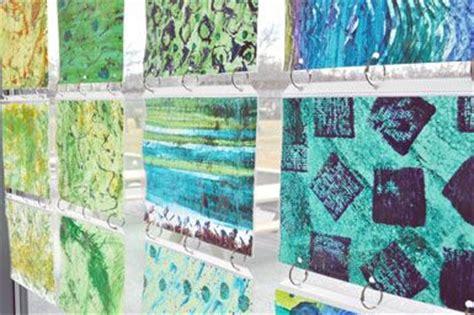 Rainbow window shades library spaces art displays pinterest