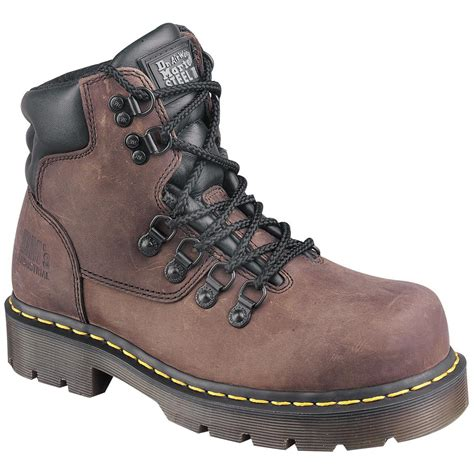mens steel toe hiking boots s dr martens 6 quot 8836 volcano steel toe hiker boots