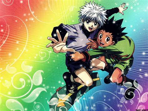 anime hunter x hunter hunter x hunter anime 14 background hivewallpaper com