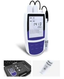 Alat Tes Tds water test kit 4 parameter conductivity tds salt suhu