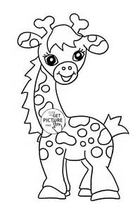 coloring pages for teenagers animals baby giraffe animal coloring page for baby animal