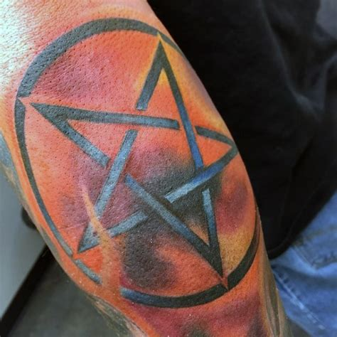 elbow star tattoo designs pentagram tattoos designs ideas and meaning tattoos for you