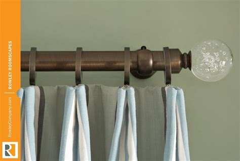rowley drapery 47 best images about decorative rod hardware on pinterest