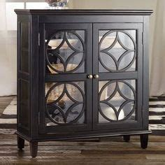Diamon Glass Motif Gloria Display espresso finished display chest with 2 adjustable shelves