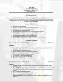 cnc machinist resume sample 2 - Cnc Machinist Resume Samples