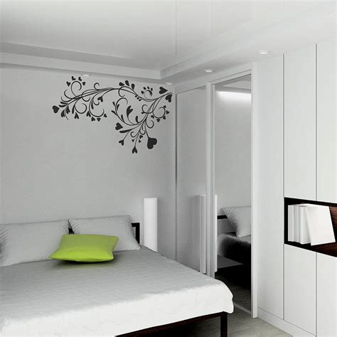wall design baroque flower wall sticker by spin collective