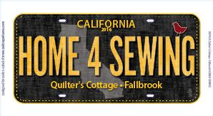 Quilters Cottage Fallbrook row by row 2016