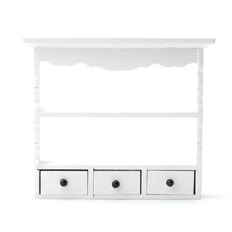 white wall shelves e2599 white wall shelf unit dolls house superstore