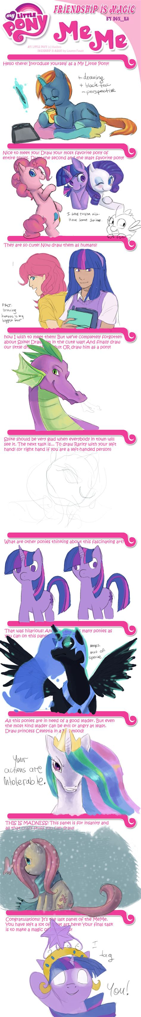 Mlp Fim Meme - mlp fim meme by blu red on deviantart