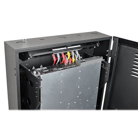 smartrack 6u wall mount rack enclosure smartrack 6u low profile vertical mount server depth wall