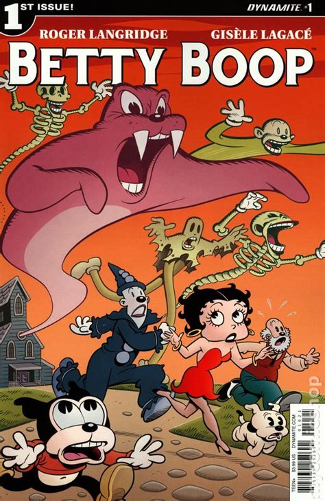Betty The Book betty boop comic books issue 1