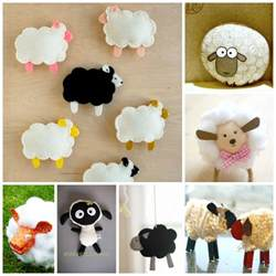 sheep craft template template arts and crafts for all seasons