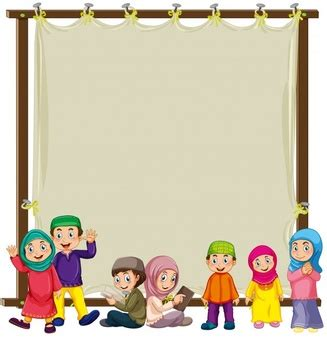 Format Sticker Happy Familyl Anak Perempuan 2 muslim vectors photos and psd files free