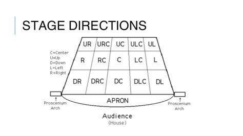 Areas Of The Stage Diagram