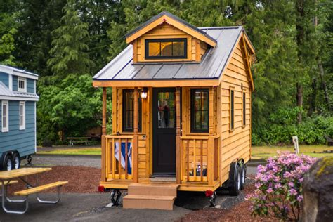 renting a tiny house atticus tiny house rental at mt hood tiny house village in