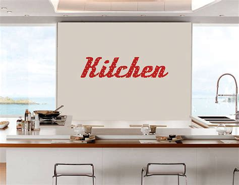 wall sticker for kitchen kitchen retro vinyl wall sticker contemporary wall