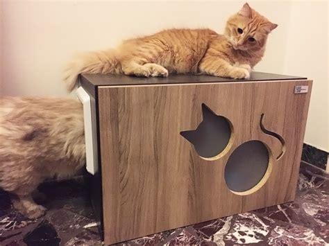 mobili lettiere per gatti mobile copri lettiera per gatti athleticat