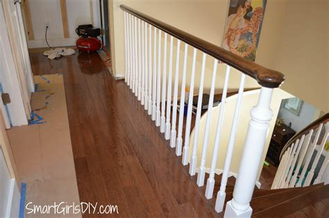whats a banister downstairs hallway 1 board and batten challenges