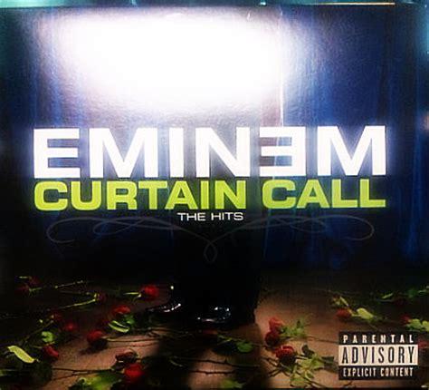 eminem intro curtain call ebonical collaboration volume curtain call the hits